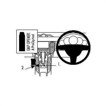 Brodit 634483 ProClip Porsche Panamera 10-16