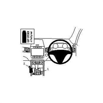 Brodit 634596 ProClip Volkswagen Touareg 11-16