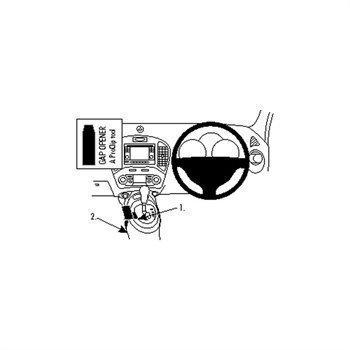 Brodit 634708 ProClip Nissan Juke 11-16