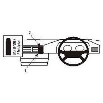 Brodit 652015 ProClip Mercedes Benz 124 86-94