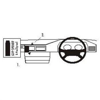 Brodit 652017 ProClip Mercedes Benz 124 86-94