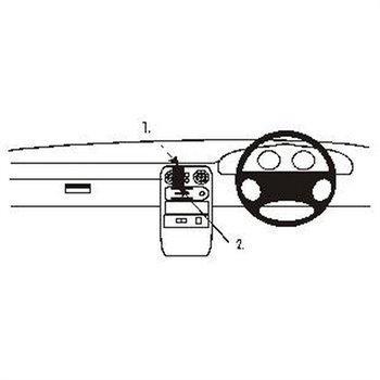 Brodit 652093 ProClip Mazda MX 5 89-93