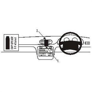 Brodit 652124 ProClip Hyundai Accent 95-99