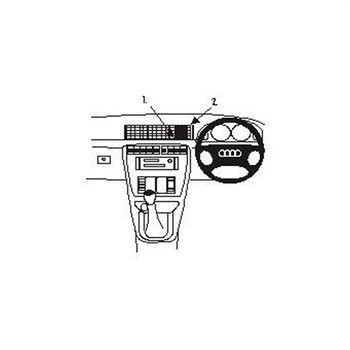Brodit 652169 ProClip Audi A4 Avant 95-01