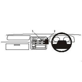 Brodit 652219 ProClip Toyota HiAce 96-12