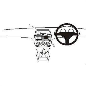 Brodit 652224 ProClip Fiat Bravo 95-07