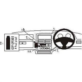 Brodit 652309 ProClip Peugeot 106 96-02