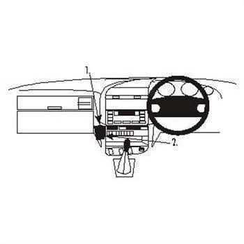Brodit 652350 ProClip BMW 316-328 E36 91-98