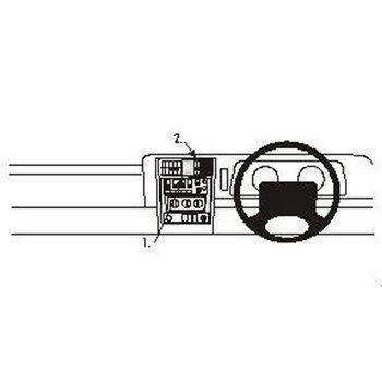 Brodit 652459 ProClip Jeep Cherokee 97-01