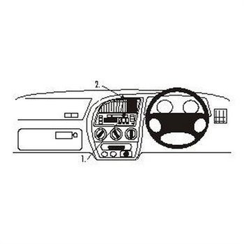 Brodit 652467 ProClip Peugeot 306 93-02