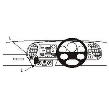 Brodit 652478 ProClip Saab 9-3 98-02
