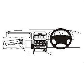 Brodit 652506 ProClip Subaru Forester 98-02