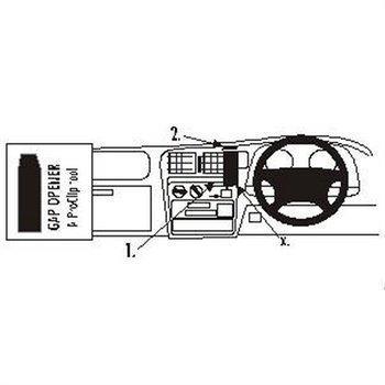 Brodit 652594 ProClip Toyota HiLux 98-05