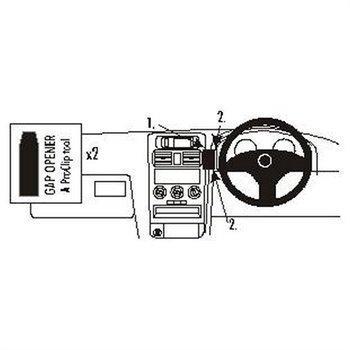 Brodit 652597 ProClip Holden Astra 98-03