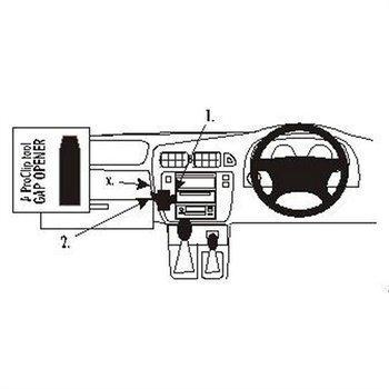 Brodit 652603 ProClip Nissan Patrol 98-10