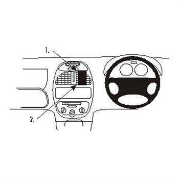 Brodit 652673 ProClip Peugeot 206 99-08
