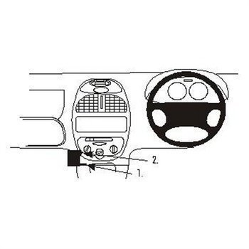 Brodit 652675 ProClip Peugeot 206 99-08