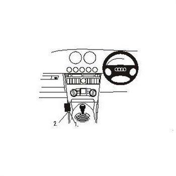 Brodit 652676 ProClip Audi TT 99-06