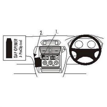 Brodit 652680 ProClip Mitsubishi Space Wagon 99-05