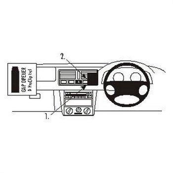 Brodit 652692 ProClip Volkswagen Bora 99-05