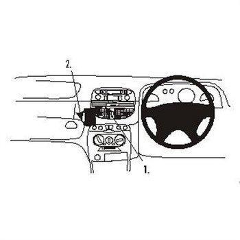 Brodit 652760 ProClip Fiat Punto 00-03