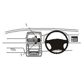 Brodit 652835 ProClip Volkswagen Sharan 01-10