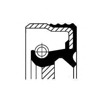 Corteco Akselitiiviste Kampiakseli