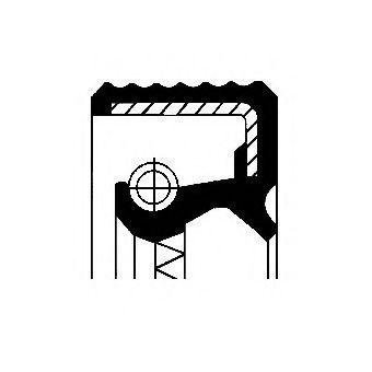 Corteco Akselitiiviste Tasauspyörästö