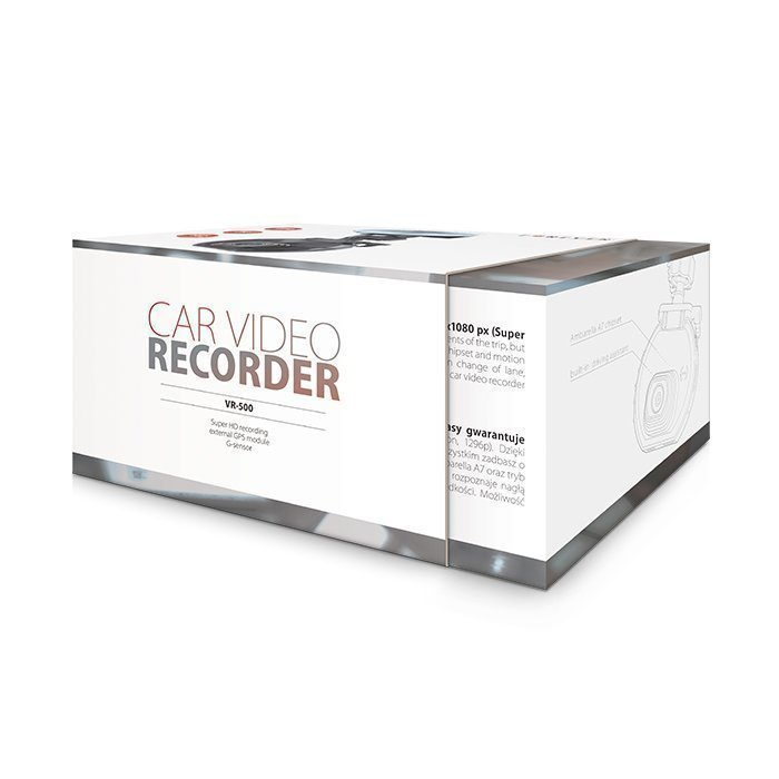 Forever Auton HD Liikennekamera tallennuksella - VR-500