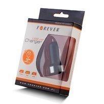 Forever USB Autolaturi + iPhone 3/4 Dock kaapeli Musta