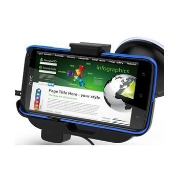 HTC One X One X+ KiDiGi Active Holder Hands Free