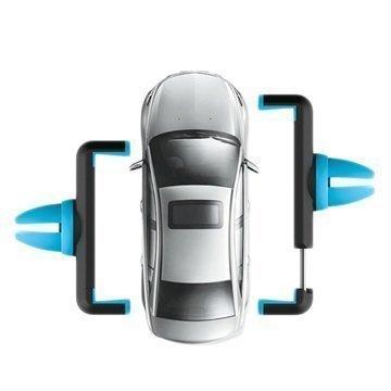 Hoco CPH01 Yleiskäyttöinen Autoteline Tuuletinritilään Sininen