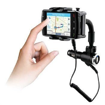 Huawei Ascent Y300 Naztech N4000 Puhelimen Kiinnitettävä Laturi