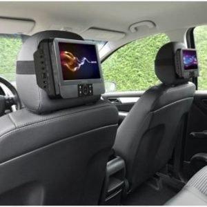 Lenco DVP-938 X2 matka DVD soitin autoon