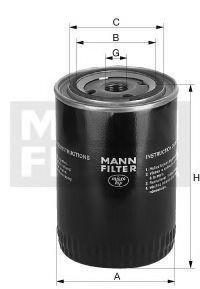 Mann-Filter Hydrauliikkasuodatin