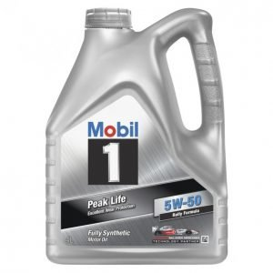 Mobil 1 Peak Life 4l 5w-50