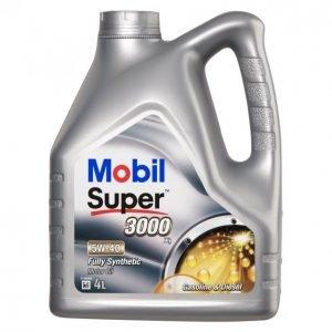 Mobil Super 3000 4l 5w-40 X1