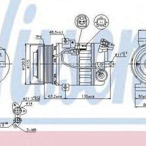Nissens Kompressori Ilmastointilaite