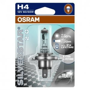 Osram H4 60/55w Silverstar Auton Polttimo
