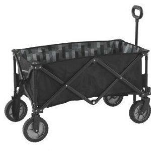 Outwell Transporter kokoontaittuvat kuljetuskärryt varusteille musta
