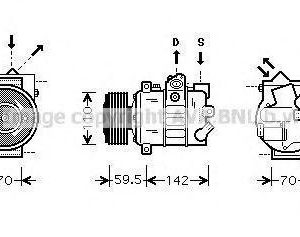Prasco Kompressori Ilmastointilaite
