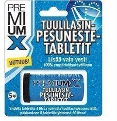 PremiumX Tuulilasinpesuneste tabletti