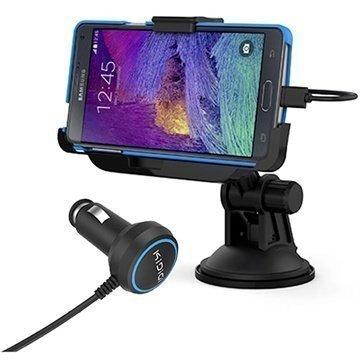 Samsung Galaxy Note 4 KiDiGi Autoteline / Autolaturi Musta