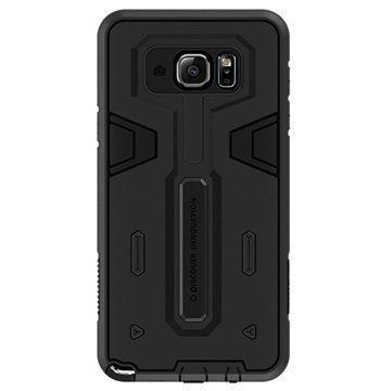 Samsung Galaxy Note 5 Nillkin Defender II Series Hybrid Suojakuori Musta