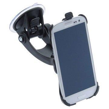 Samsung Galaxy S3 I9300 iGrip T5-94400 Matkustussarja / Autopidike Musta