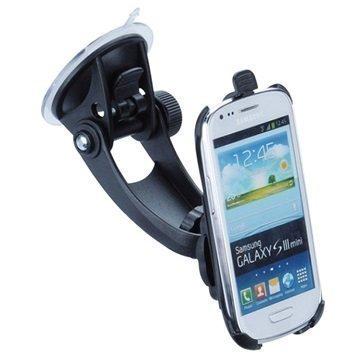 Samsung Galaxy S3 Mini I8190i Grip T5-94401 Matkustussarja / Autopidike Musta