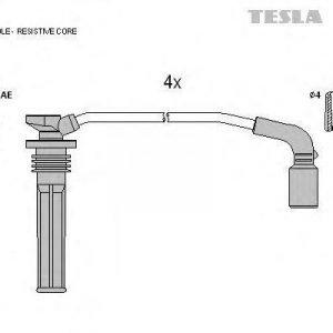 Tesla Sytytysjohtosarja