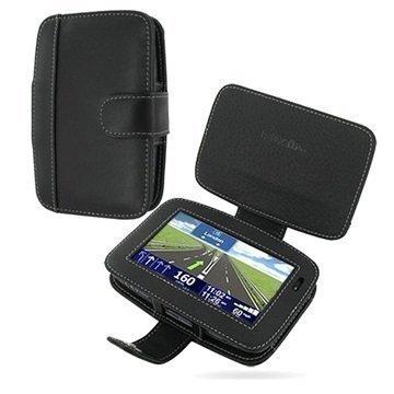 Tom Tom Go 940 Live 740 Live 540 Live PDair Leather Case 3BTT54B41 Musta