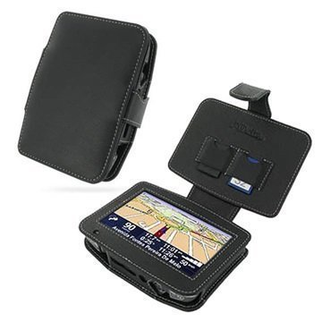 Tom Tom Go One XL PDair Leather Case Black
