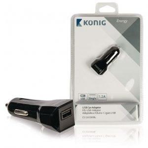 USB autosovitin 1 2 A